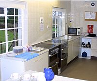 Kitchen at Porlock Village Hall