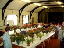 Flower Show in the Large Hall